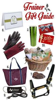 *Horse Trainer Gift Guide 2013 from: www.seehorsedesign.com | The House of Beccaria#