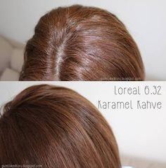 loreal 6.32 before after - Google'da Ara Coffee Hair, Golden Brown Hair, Long Hair Styles, Beauty, Hair, Recipes, Popular Hair Colors, Nice Hairstyles