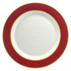 10 Strawberry Street Xena Dinner Plate - Set of 4