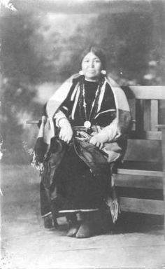 Annie Red Elk :: National Park Service (NPS) Nez Perce Historic Images Collection