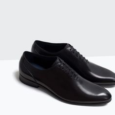 LEATHER SHOES-Shoes-Shoes-MAN | ZARA Turkey