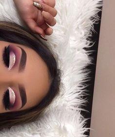 Glam Makeup, Cute Makeup, Gorgeous Makeup, Pretty Makeup, Skin Makeup, Eyeshadow Makeup, Beauty Makeup, Eyeshadows, Eyeshadow Palette