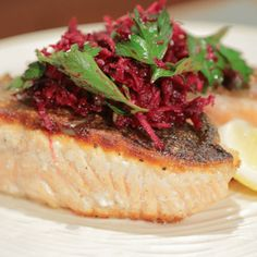 Salmon Beet Salad Michael Symon