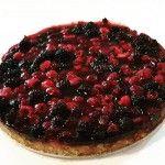 Bosvruchten Havermout taart gemaakt door ZOET #bosvruchten #havermout #taart #heerlijk #zoet #zeist #theeroom #lunchroom