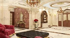 لابی ساختمان International Real Estate, Oversized Mirror, Master Bedroom, Furniture, Home Decor, Master Suite, Decoration Home, Room Decor, Home Furnishings