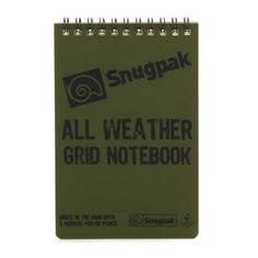 Snugpak Waterproof Notebook A6