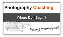 How do you avoid becoming overwhelmed by the amount of stuff you have to learn when starting photography? Which order should you learn photography? Learn Photography, Free Photography, First Video, Coaching, Feelings, Learning, Videos, Training, Studying