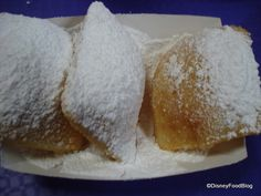 Disney World Port Orleans French Quarter Beignets!!!!  Love them hot out of the fryer!