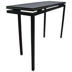 Midcentury Side Table Console by Pierre Vandel, Paris