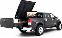 Ultimate tailgate system...After you buy this you won't be able to afford tickets.