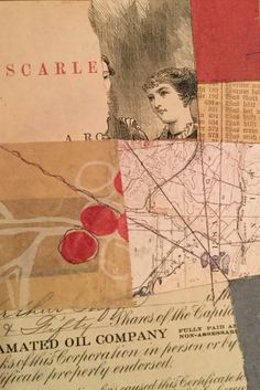 "4""x6"" collage on paper. Steven Gilbar"