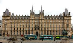 The Radisson North Western Hotel is on the east side of Lime Street, Liverpool, England, fronting Lime Street railway station. The building is recorded in the National Heritage List for England as a designated Grade II listed Great North, Listed Building, East Side, Cover Photos, Liverpool, Westerns, Louvre, England, North Western