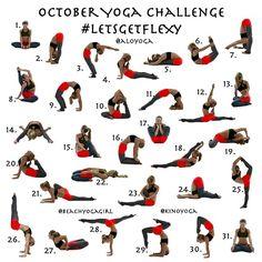 kinoyoga's photo on Instagram October Challenge