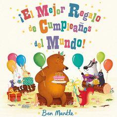 """""""¡el mejor regalo de cumpleaños del mundo!"""" de Ben Mantle Ardilla quiere hacerle a su amigo el mejor regalo de cumpleaños del mundo. Pero, ¿qué se le puede regalar a un oso que lo tiene todo? Un palo, por supuesto. Aunque es mucho más que un palo... Es el regalo perfecto, y no solo para osos. DE 3 A 6 AÑOS Signatura: A FOR"""