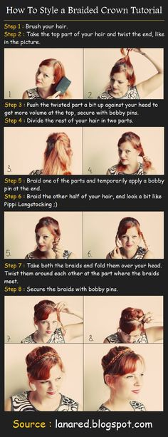 How To Style a Braided Crown | Beauty Tutorials