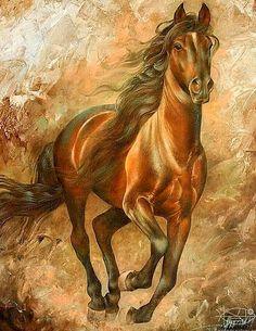 ART~ Wild Horses~ Arthur Braginsky