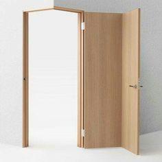 Nendo's door concepts include designs for wheelchair users – Door Design Interior Architecture, Interior And Exterior, Corner Door, Interior Decorating, Interior Design, Dark Interiors, Deco Design, Entrance Doors, Wooden Doors