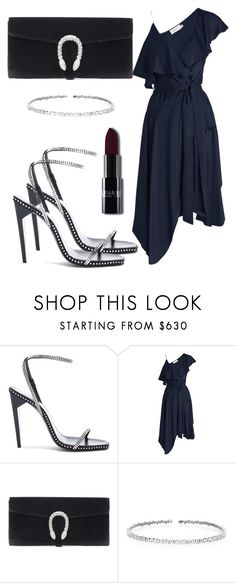 """Untitled #5479"" by beatrizvilar on Polyvore featuring Yves Saint Laurent, Zimmermann, Gucci and Suzanne Kalan"
