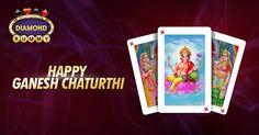 Team DiamondRummy wishes you a Happy Ganesha Chaturthi and May Lord Ganesha shower Wealth and Prosperity on You www.diamondrummy.com
