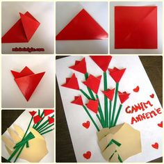 Excellent collection of Valentine's Day Craft Ideas you can engage your toddlers with. These craft Ideas are easy and do not require you to be a genius Toddler Crafts, Diy Crafts For Kids, Arts And Crafts, Craft Ideas, Mothers Day Crafts, Valentine Day Crafts, Saint Valentin Diy, Rose Crafts, Art N Craft