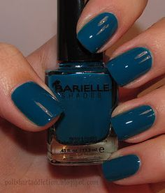 Barielle A Bouquet for Ava - I love teal polish