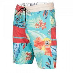 0c33d7cfaae2 Volcom 3 Quarta Slinger Bright Turquoise Boardshorts Mens Boardshorts,  Billabong, Man Shop, Swim