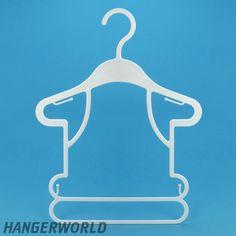 White Plastic Baby Frame Display Hanger - 26cm