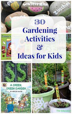 Flower & garden activities for kids