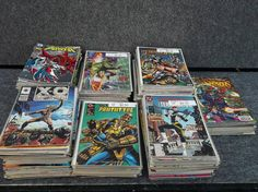 Huge Mixed Lot of 331 Comic Books DC Marvel Dark by LotusatNight