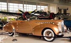 1940ish Packard Darrin Convertible Victoria