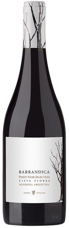 """""""Barrandica"""" Pinot Noir 2011 - Bodega Antucura, Tunuyán, Mendoza---------------------------------- Terroir: Vista Flores (Tunuyán)-- Crianza: 3 meses en barricas de roble francés de segundo uso"""