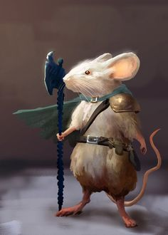 Mouse Adventurer 1 by mythrilgolem1 on DeviantArt