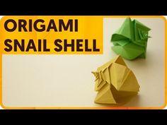 Origami Spiral Snail Shell (Toshikazu Kawasaki) - YouTube