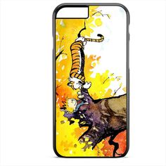 Calvin And Hobbes In Tree TATUM-2246 Apple Phonecase Cover For Iphone SE Case