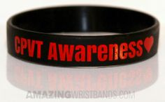 Raise funds for your CPVT awareness programs and charity events using custom bracelets.