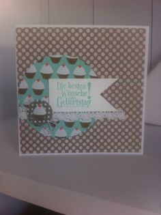 A muffin a day...Birthday card By EinfallsReich