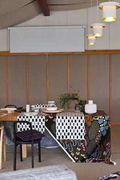 Vihreä talo - sisustusblogi: Marimekko FW17 Alvar Aallon Paviljongissa