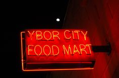 """Ybor City neon ad"" by Jorge Grisales"