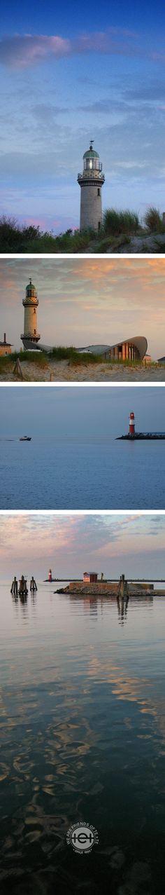 Leuchttürme weisen einem den Weg. Auch in stürmischen Zeiten. Diese hier haben mir sogar das Ziel meines Urlaubsweges signalisiert. Hallo Meer und auf Wiedersehen Ostsee, war schön bei dir!
