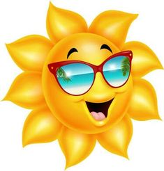 Illustration of Cartoon sun character wearing sunglasses vector art, clipart and stock vectors. Images Emoji, Emoji Pictures, Funny Emoticons, Smileys, Cartoon Sun, Cute Cartoon, Lach Smiley, Smiley Emoji, Cartoon Design