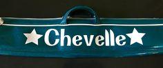 Baton bag custom decal