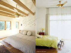 Chic and Stylish Ceiling Fans : ARTEMIS Fan In Wood