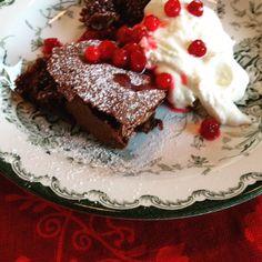 Kladdkaka - eller 4-minutter-og-10-sekunders-kage