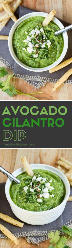 Avocado Cilantro Dip