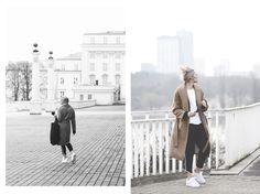 #spodnie damskie Top Secret z lampasami na blogu #rebellook Coat, Jackets, Fashion, Down Jackets, Moda, Sewing Coat, Fashion Styles, Peacoats, Fashion Illustrations