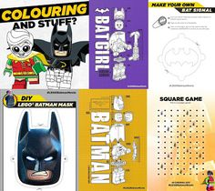 The Brick Castle: LEGO Movie Clips, Printables, Games and Activities!