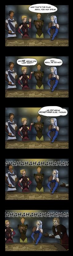 Dragon Age Comic - Planning by YukiSamui on deviantART