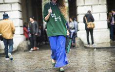 Street Style at London Fashion Week Spring 2014 - London Fashion Week Spring 2014 Street Style, Day 1