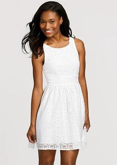 Would love something like this for my reception, except knee length.