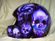aerografia en cascos... una verdadera obra de arte - Taringa! Motorcycle Tank, Motorcycle Helmets, Linkin Park, Headgear, Airbrush, Muscle Cars, Hot Rods, Old School, Harley Davidson